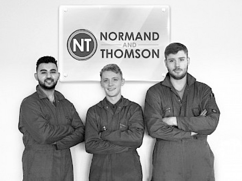 New Apprentices Start at N&T